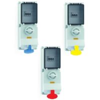 BALS BS4343 Switched Interlocked Combination Units with RCD IP44