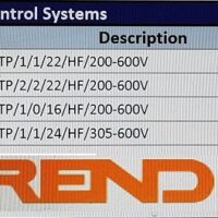 Table showing Trend Cable Equivalents