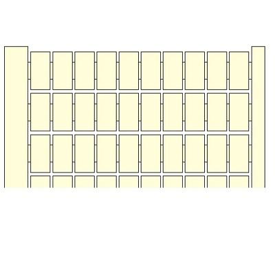 Entrelec terminal Blank marker cards