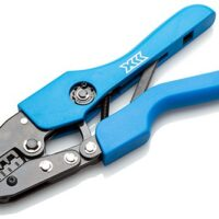 Crimping Tool for twin bootlace ferrules