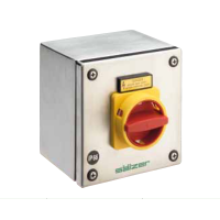 Salzer enclosed stainless steel isolator
